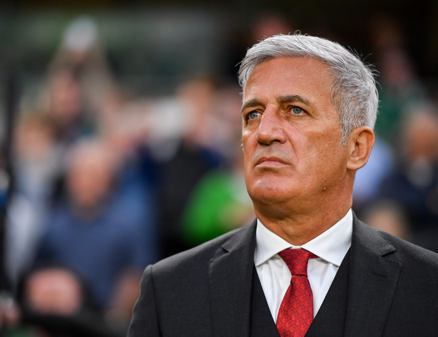 Switzerland manager Vladimir Petkovic during the UEFA EURO2020 Qualifier Group D match between Republic of Ireland and Switzerland at Aviva Stadium, Lansdowne Road in Dublin. Photo by Seb Daly/Sportsfile