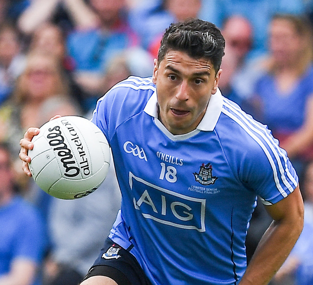 Aidan O'Mahony believes Bernard Brogan should be in Dublin's match-day panel for the All-Ireland replay