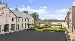 Located in south Co Dublin, an 18th-century building has been transformed into finest modern living