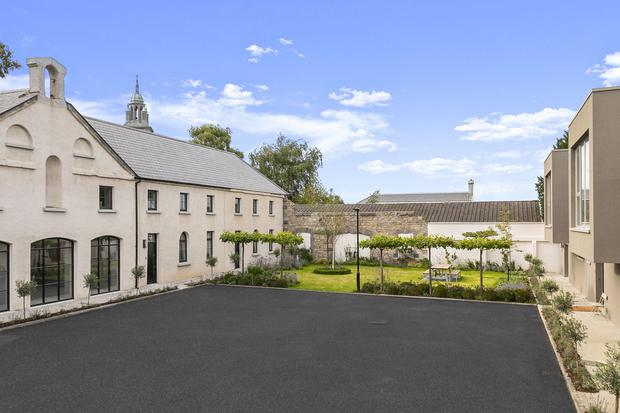 Mount Merrion mews built in a 300 year old stable block