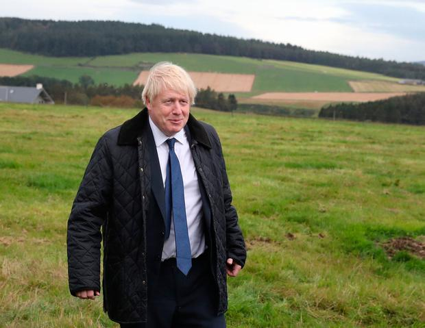 'Johnson must now fight a general election fraught with risk, not at a time of his choosing.' Photo: Andrew Milligan/PA Wire