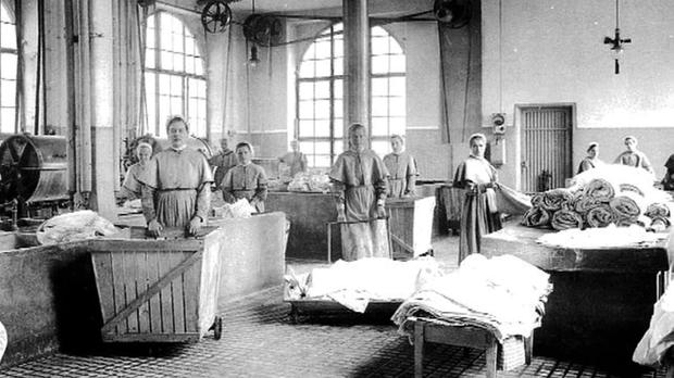 Women were forced to work in laundries for no pay