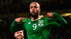 David McGoldrick is suffering from a hamstring problem