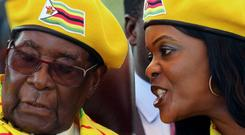 Grace Mugabe wanted to succeed her husband. Picture: Reuters