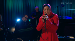 Sinead O'Connor on The Late Late Show on RTE One