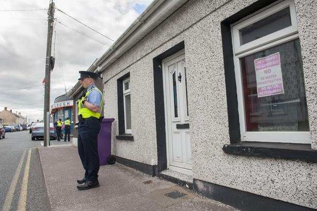 The scene at Bandon road, Cork city where Gardai are investigating a suspicious death.Picture: Daragh McSweeney/Provision