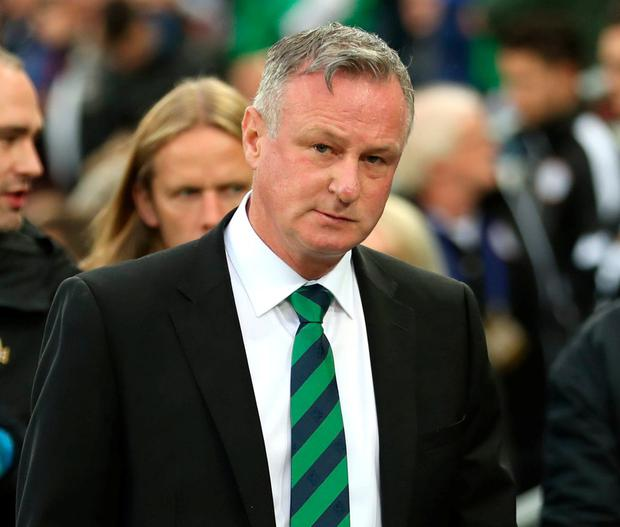 Northern Ireland manager Michael O'Neill has signed a three-and-a-half year deal with Stoke City. Photo: Liam McBurney/PA Wire