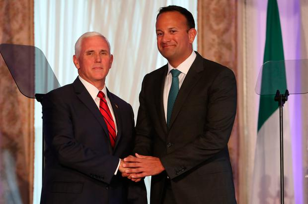Donal Lynch: 'The tact Leo showed Pence is hardwired into