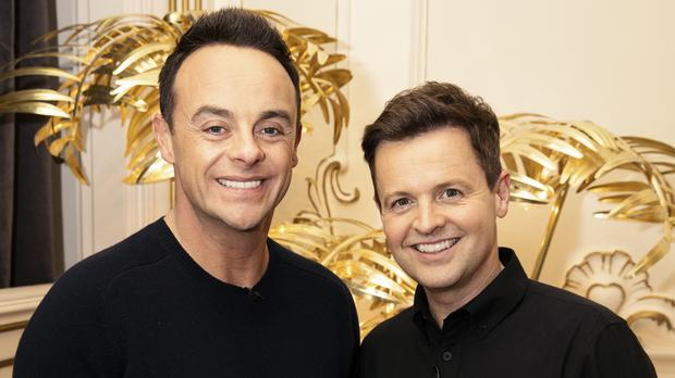 Ant and Dec awarded the golden buzzer (Tom Dymond/Syco/Thames ITV)