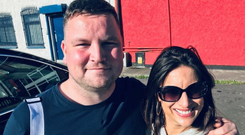 John Connors with Lucy Kennedy on Living With Lucy, Virgin Media One, Monday September 9, 9pm.