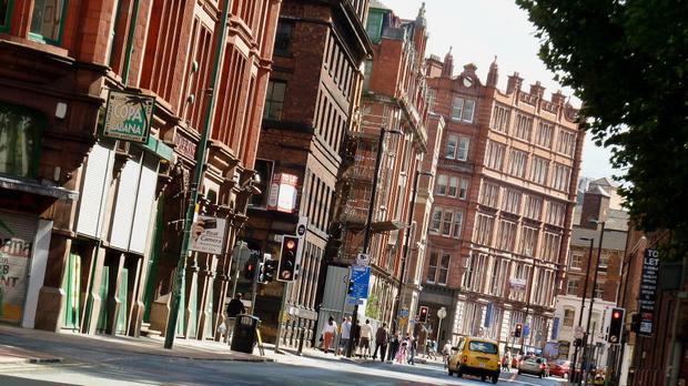 Dale Street in Manchester's Northern Quarter