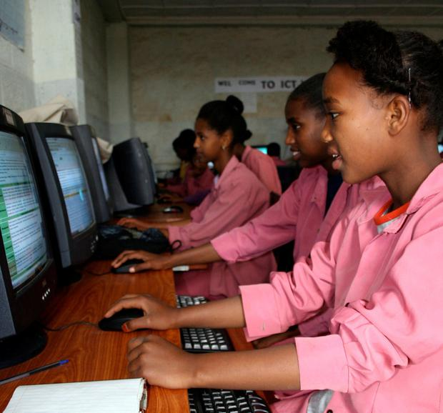 Opening up 'a world of opportunity': Girls study at Jerusalem Primary School in Addis, Ethiopia