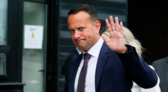 Solutions: Taoiseach Leo Varadkar will try to find 'common ground' in talks with UK Prime Minister Boris Johnson. Picture: PA