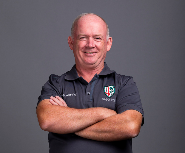 'There was things going on in my life that I had to step out for, so I'm obliged to London Irish for giving me the chance' Photo: Steve Bardens/Getty Images