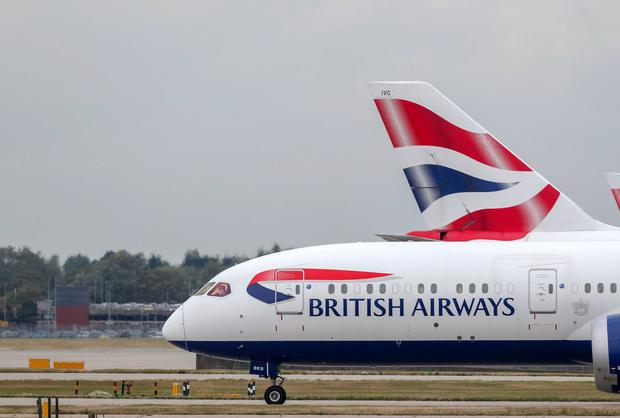 Dublin-Heathrow flights grounded by BA pilot strike