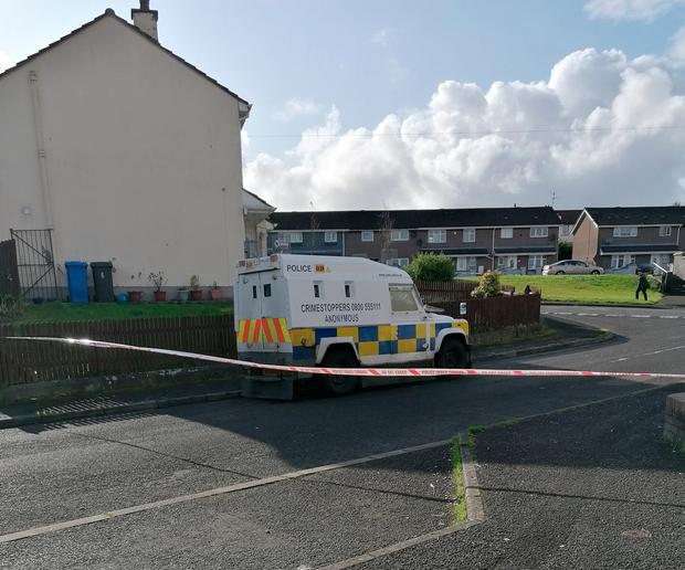 Bomb found in Northern Ireland 'to be used to attack police'