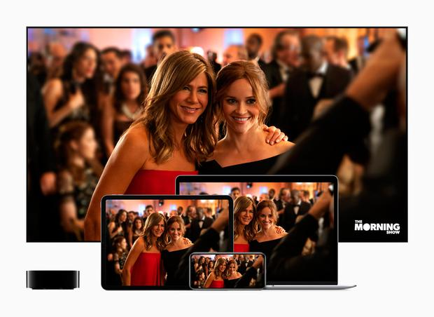 Undated handout photo issued by Apple of a screen shot of Apple's new TV streaming service which will begin its attempts to rival Netflix and Amazon Prime Video in November, the technology giant has confirmed. Apple/PA Wire