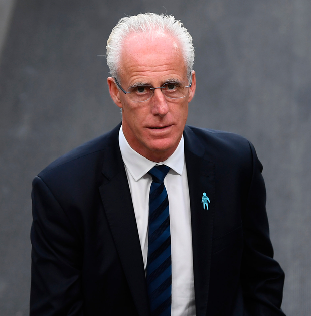Mick McCarthy has to focus solely on qualification for next year's European Championships as a new generation of talent emerges. Photo: Sportsfile