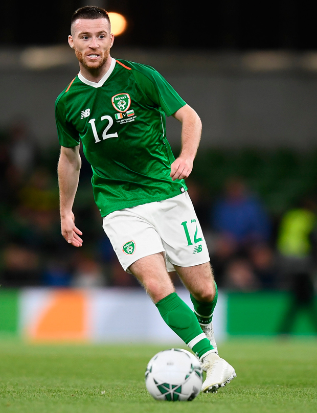 Jack Byrne has attracted interest across the water