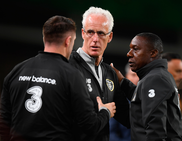 Mick McCarthy's time in charge is running out. Photo: Sportsfile