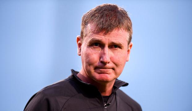 Unwell: Stephen Kenny expects to be discharged from a Swedish hospital in the 'coming days'. Photo: Stephen McCarthy/Sportsfile