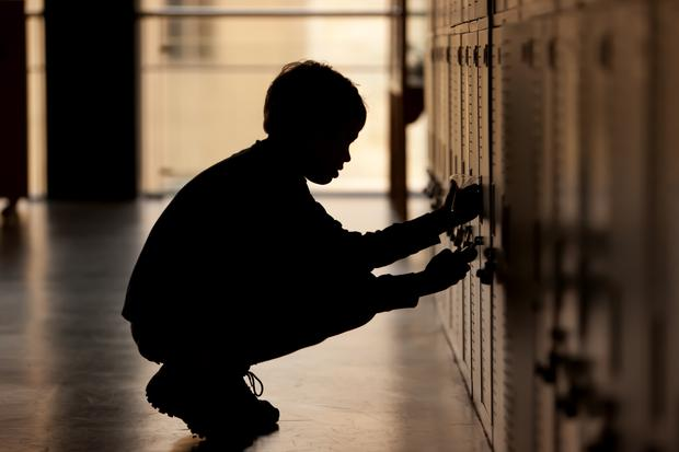 Isolation: The National Parents Council said children were being denied a locker. Stock: Getty Images/iStockphoto