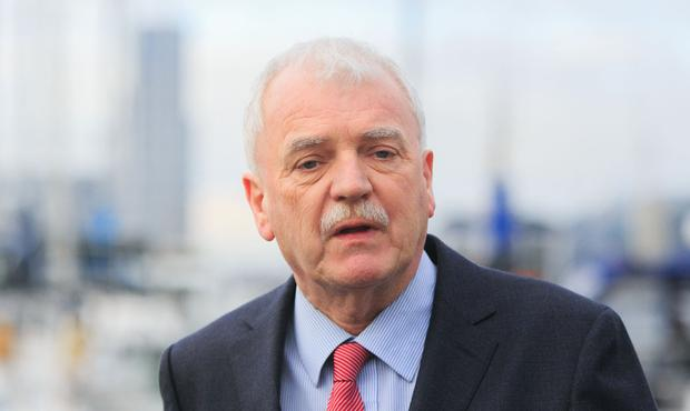Finian McGrath: Met with Finance Minister Paschal Donohoe. Photo: Gareth Chaney, Collins
