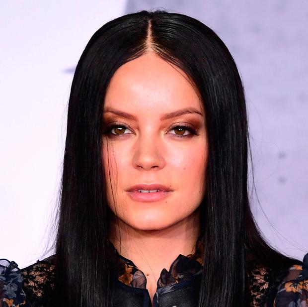 Assault: Lily Allen woke up to find man trying to have sex with her. Photo: Ian West