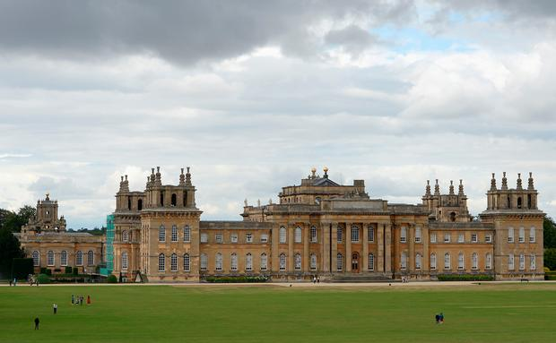 Blenheim Palace. A golden toilet worth £1 million has reportedly been stolen from the palace. Joe Giddens/PA Wire