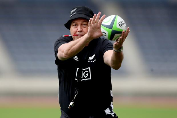 Steve Hansen's hugely successful tenure as New Zealand coach will end after the World Cup in Japan. Photo: Hannah Peters