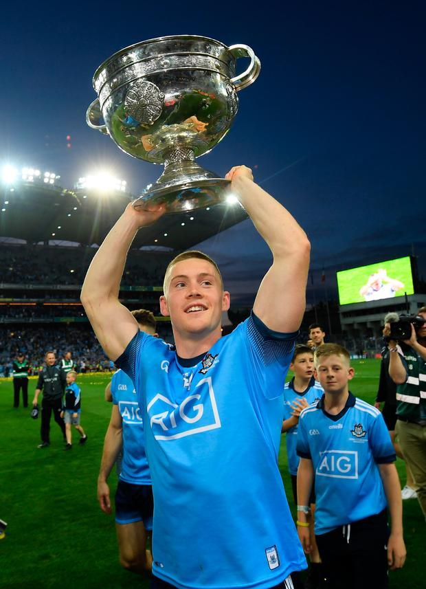 Con O'Callaghan has been named the Man of the Match after lifting the Sam Maguire at Croke Park