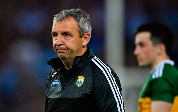 14 September 2019; Kerry manager Peter Keane after the GAA Football All-Ireland Senior Championship Final Replay between Dublin and Kerry at Croke Park in Dublin. Photo by Piaras Ó Mídheach/Sportsfile