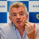 Ryanair's Michael O'Leary. Photo: PA