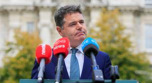 Finance Minister Paschal Donohoe will submit his Budget in October. SMEs are responsible for two thirds of the employment in the country. Photo: Gareth Chaney, Collins