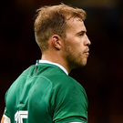 Will Addison in action for Ireland against Wales in Cardiff last month. Photo: Sportsfile