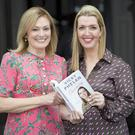 Determined: CervicalCheck campaigner Vicky Phelan with Mary Kennedy at a talk about her new book at the Clontarf Castle Hotel. Photo: Arthur Carron