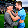 Jim Gavin with Jack McCaffrey. Photo: Sportsfile