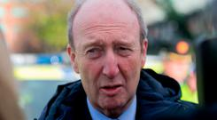 Letter to constituents: Minister Shane Ross. Photo: Gareth Chaney, Collins