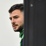 Robbie Henshaw during an Ireland Rugby gym session at the Ichihara Suporeku Park in Ichihara, Japan. Photo by Brendan Moran/Sportsfile