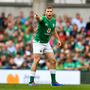 Jack Carty of Ireland during the Guinness Summer Series match between Ireland and Wales at Aviva Stadium in Dublin. Photo by David Fitzgerald/Sportsfile