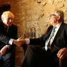 European Commission President Jean-Claude Juncker (R) poses with British Prime Minister Boris Johnson in Luxembourg. Photo: Francisco Seco - Pool/Getty Images