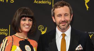 Chris O'Dowd (R) and Dawn O'Porter (L) attend the 2019 Creative Arts Emmy Awards on September 15, 2019 in Los Angeles, California. (Photo by Paul Archuleta/FilmMagic)