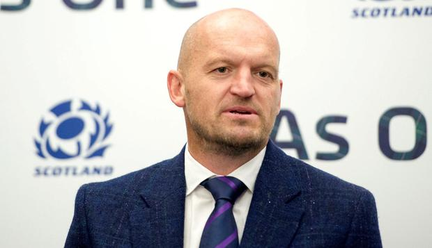 Scotland coach Gregor Townsend. Photo: Ian Rutherford/PA Wire.