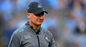 Down the line: Dublin manager Jim Gavin could end his tenure after winning five All-Irelands in a row. Photo: Piaras Ó Mídheach/Sportsfile