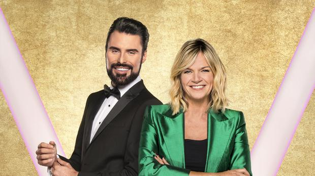 Rylan Clark-Neal and Zoe Ball on It Takes Two (BBC/PA)