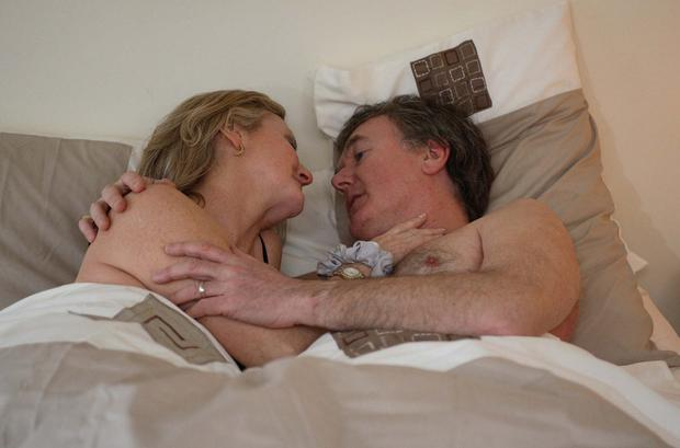Renee and Bob's first night together on Fair City in 2006