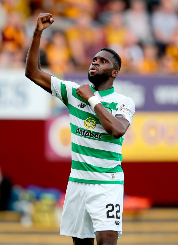 Odsonne Edouard believes he still has a lot to prove at Celtic, despite being linked with a big-money move away from the club. Photo: Jane Barlow/PA Wire