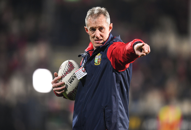 Wales assistant coach Rob Howley during his time on the Lions backroom team during the 2017 tour of New Zealand. Photo by Stephen McCarthy/Sportsfile