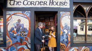 Noel Shine, who played at the very first Cork Folk Festival in 1979, with his daughter Ellie Shine, who will perform alongside him at the 2019 Festiva PICTURE Darragh Kane