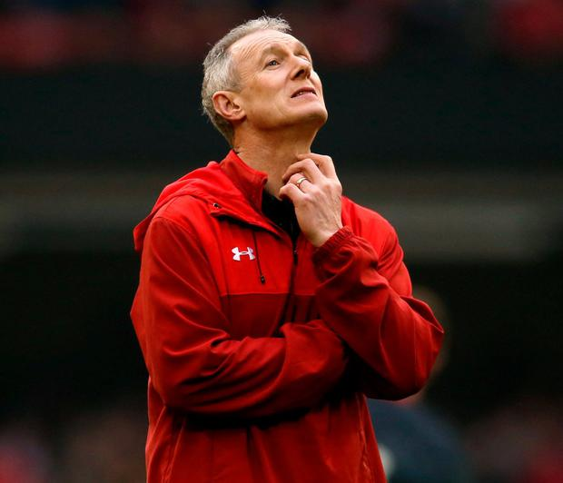 Wales assistant coach Rob Howley. Photo: Paul Harding/PA Wire